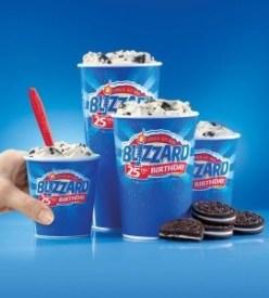 Dairy Queen Menu Prices blizzard flavors