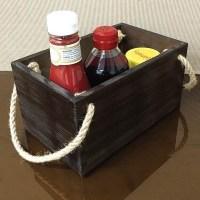 Vintage Restaurant Condiment Holders / Boxes
