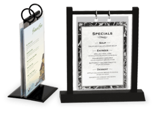 Comfortable Flip Photo Frame Menu Stands Restaurant Table Tents - Table tent card holders