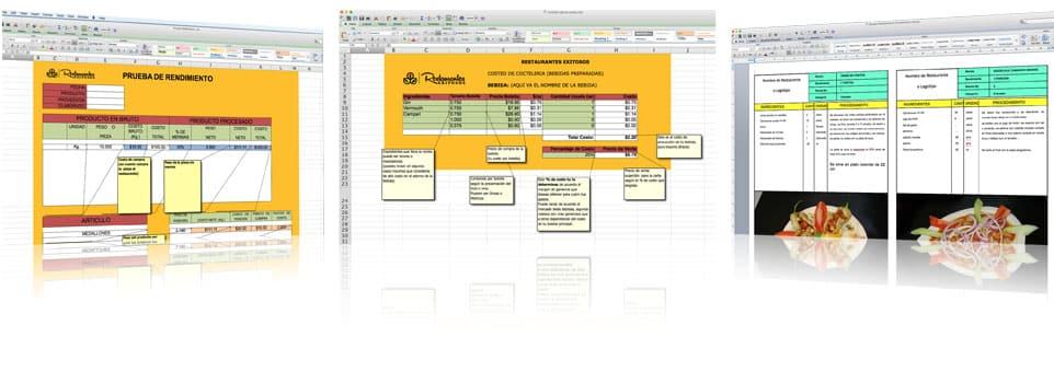 formatos y controles para restaurantes Capacitación para