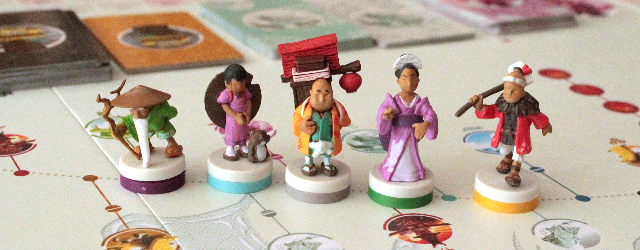 Usually, when a game is about traveling a road, you win by arriving first at the destination. Of course racing is fun, but it's not the only way to travel. Sometimes, going slowly and enjoying the trip is what you should be doing. Antoine Bauza's Tokaido rewards that type of travel, here the winner is the player who had the richest experience along the way. That makes Tokaido very different from a racing game, and in the best way, too.