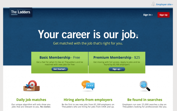 job seeking websites