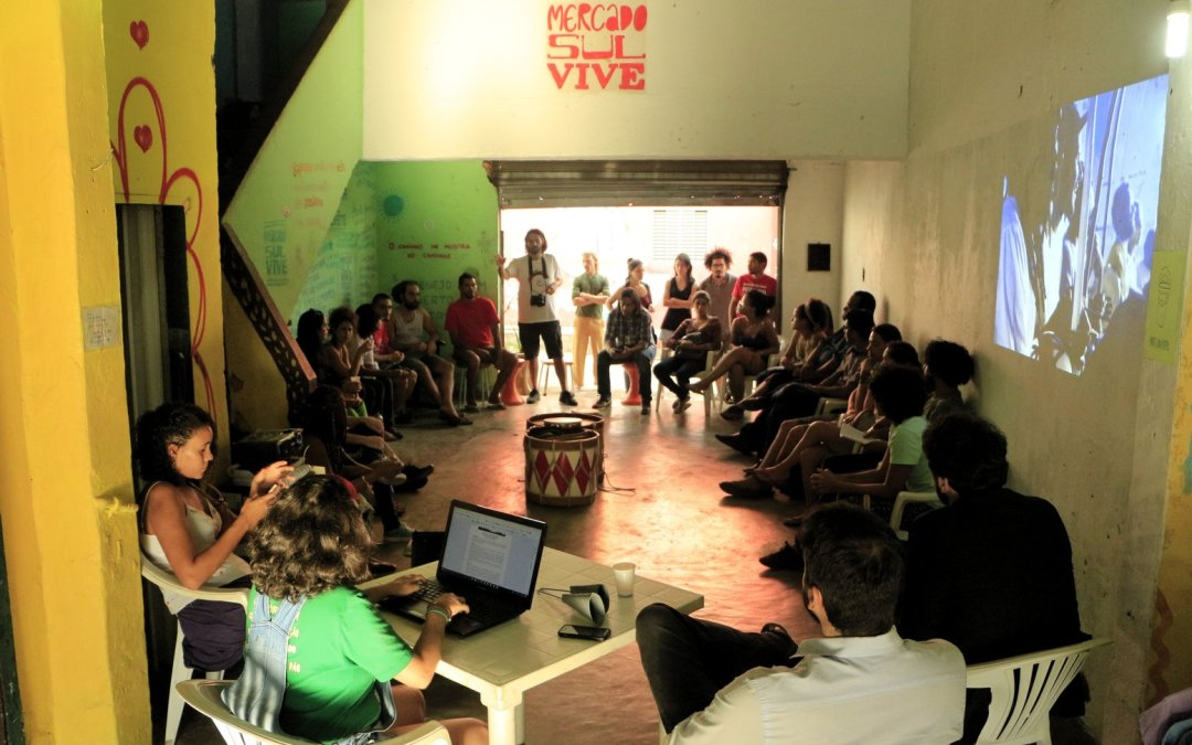 Plenária Livre sobre a Ocupação Cultural Mercado Sul Vive