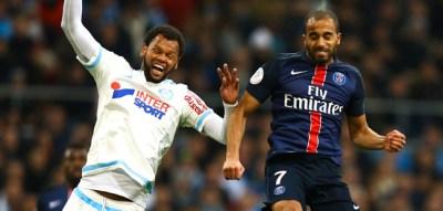 Lucas - 07.02.2016 - Marseille / Paris Saint Germain - 25e journee de Ligue 1 Photo : Manuel Blondeau / Icon Sport