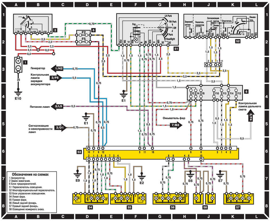 mercedes benz trunk wiring diagrams