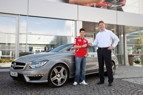 CLS63 per Nicky Hayden