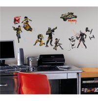 Buy Official Star Wars Wall Decor Characters Glow In The Dark