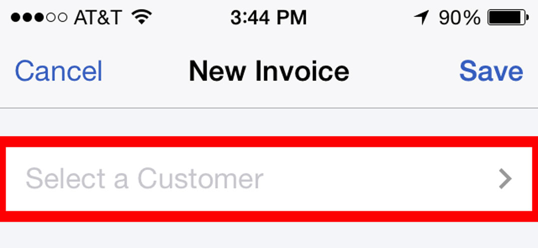 Sending Invoices To Customers Using The QuickBooks Online Mobile App