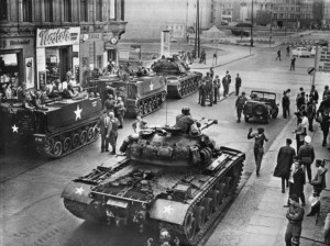 Confrontation at Checkpoint Charlie