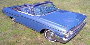 1962 Mercury Monterey S-55 Custom Convertible