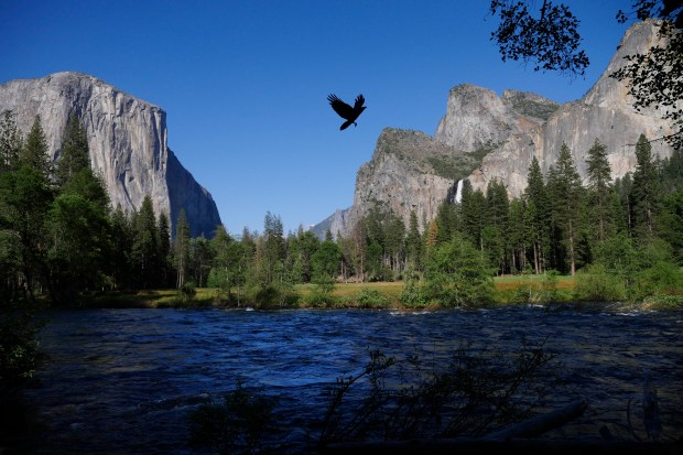 Upper Yosemite Falls Wallpaper Yosemite Death By Drowning Risk On Merced River Extra High