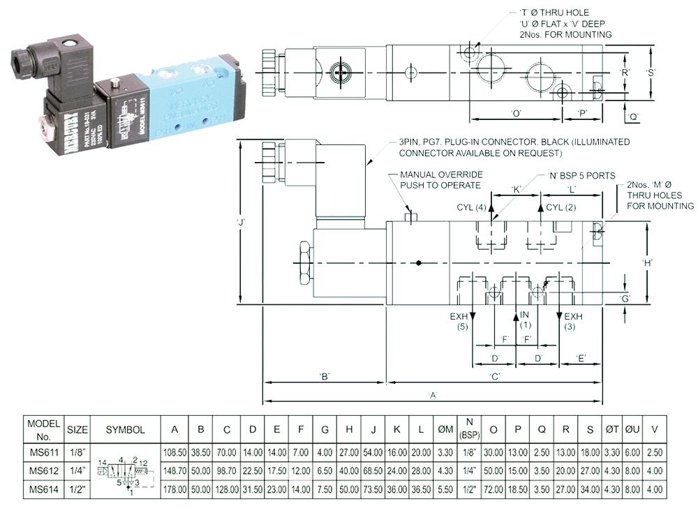 wiring dc solenoid valves schematic