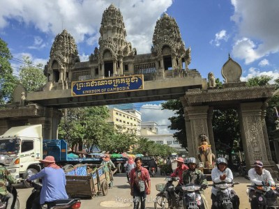 Cambodia from Bangkok Border Crossing