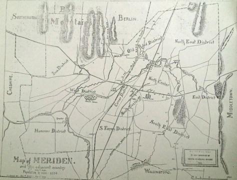 Meriden & Adjacent Country 1850