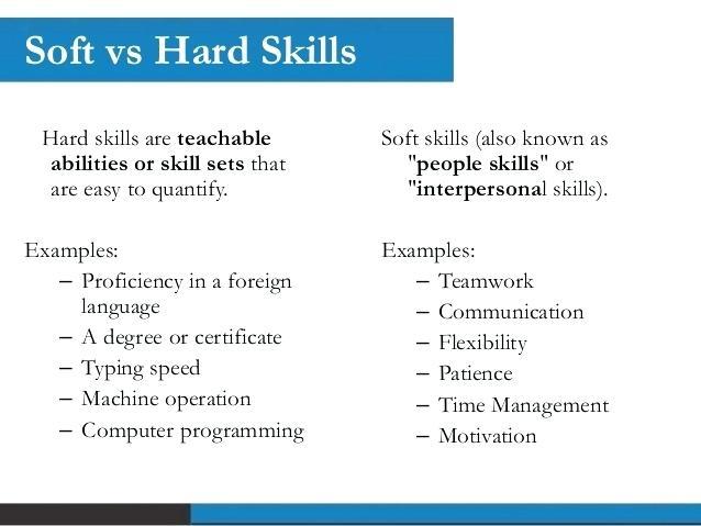 resume skills vs expertise