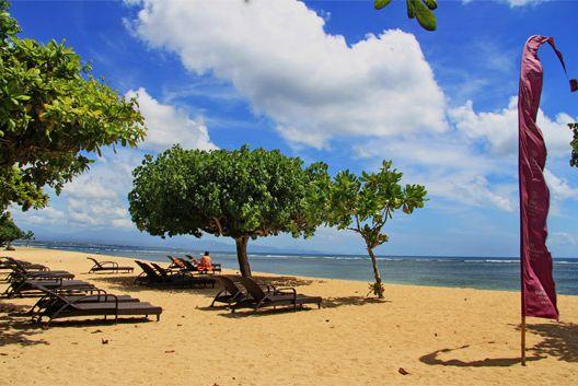 beach view at TM course