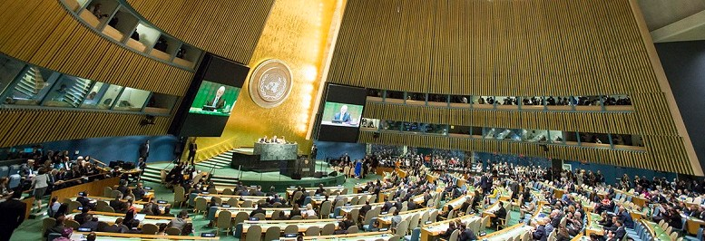 File photo of United Nations General Assembly.