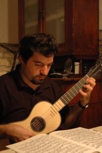 chitarra terzina (T. De Stefano), da Anonimo francese