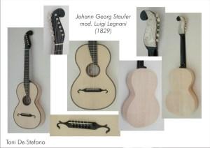 "T. De Stefano (Milano, 2007), chitarra Staufer mod. ""Legnani"" (Wien, 1829)"