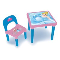 DISNEY Princess My First Activity Table and Chair Set with ...