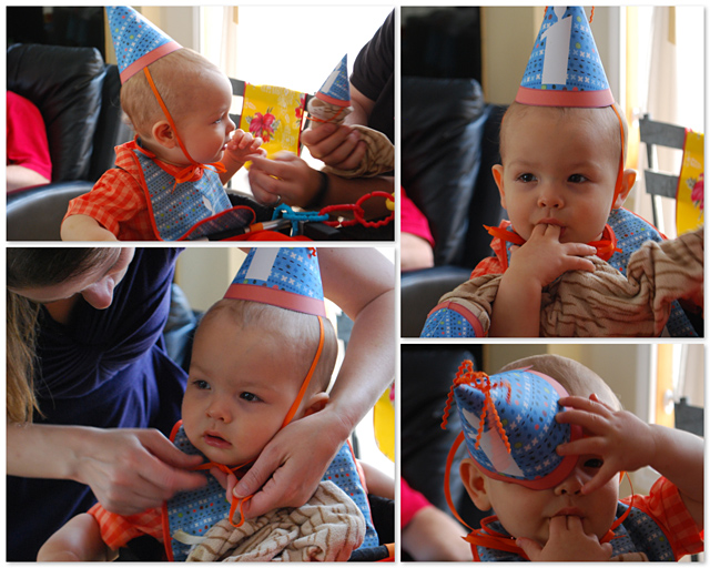 Free printable 1st birthday party hat template - Merriment Design