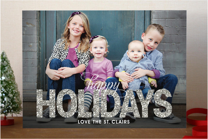 GIVEAWAY $200 towards Minted Holiday Cards - Merriment Design