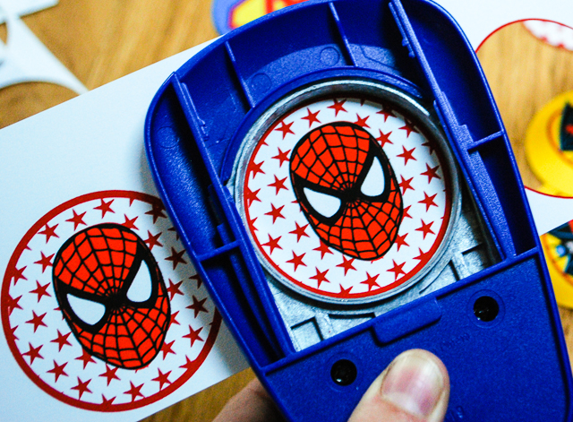 Spider-Man printable personalized cupcake toppers or temporary