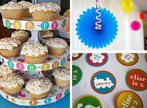 Stickers\ - birthday party design
