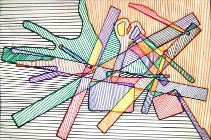 Overlapping Shapes-Marker