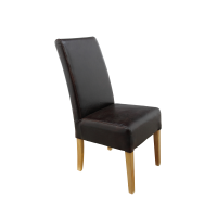 Genuine leather dining chairs - Dining chairs