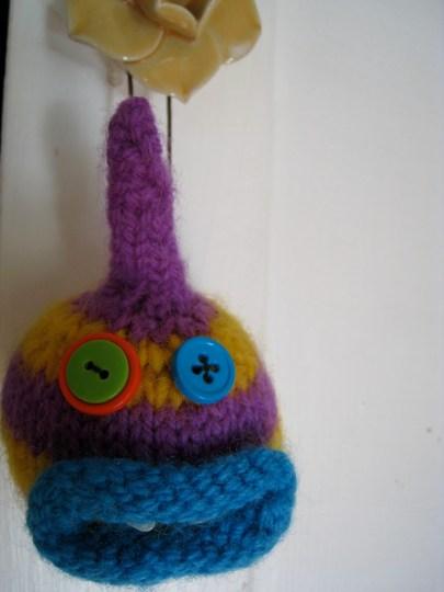 Monster Ornament by erinmakesstuff.com