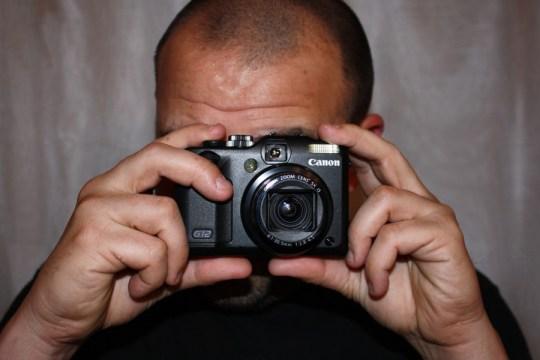 Canon G12 + Pete.