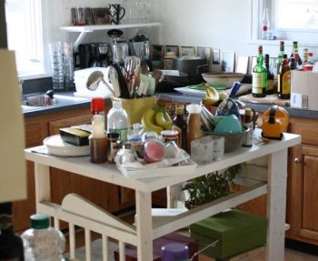 Pete's moving in, and this house is a mess.