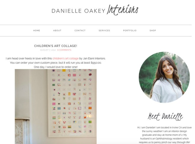 Danielle Oakey Interiors merrypad.com feature