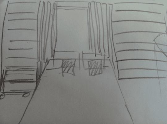Headboard sketchiness.