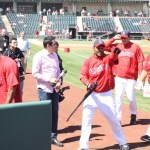 That guy on the far right? That's Albert Pujols, he's earning $12 mil this year and $240 million over the next 8 with the Angels. Wheeee!