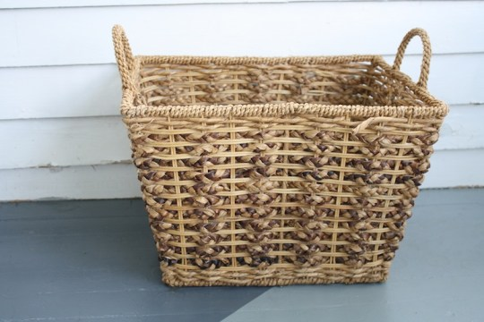 Big basket happiness.
