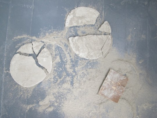 More broken thin coasters.