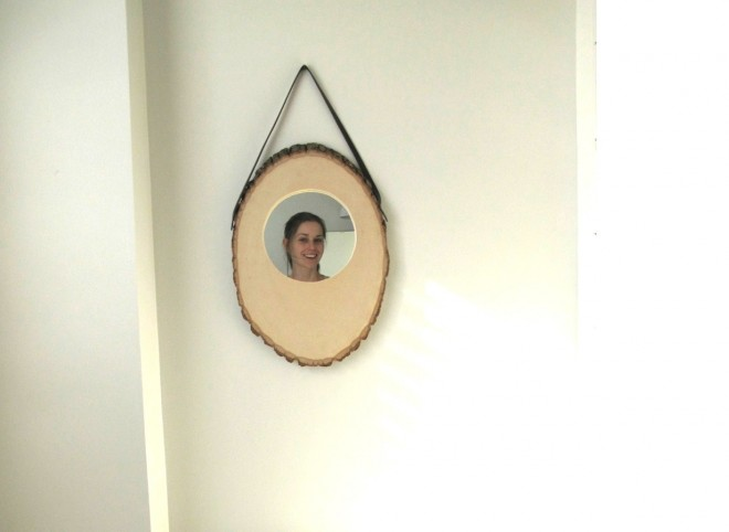 Anthropologie-inspired mirror.