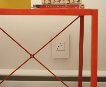 Electrical outlet by Legrand adorne in Gloss White.