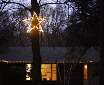 Outdoor star light DIY project.