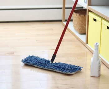 Tips for cleaning your hardwood floors.