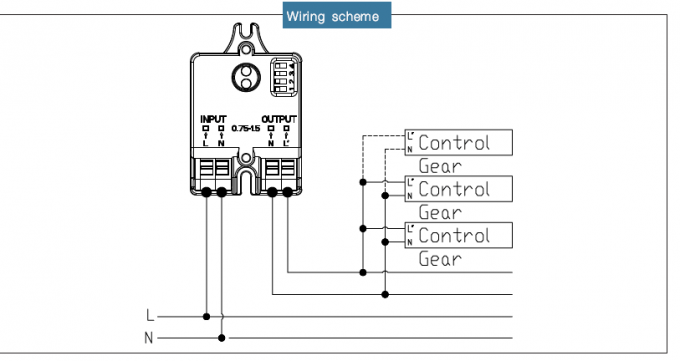 wiring a light sensor switch
