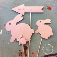 DIY de Pâques: au boulot mon petit lapin!