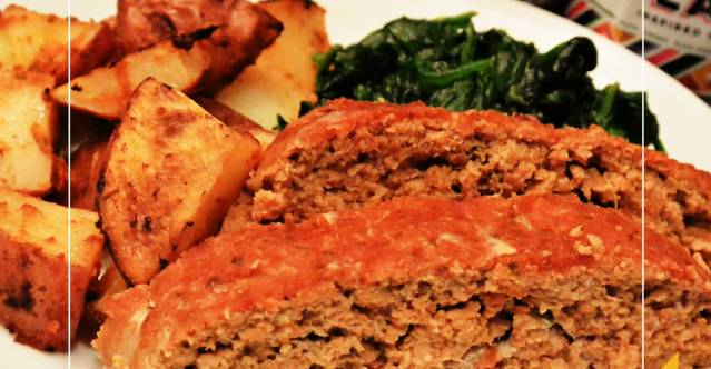 Whole30 Meatloaf Recipe Simple Healthy Globally Inspired Meatloaf