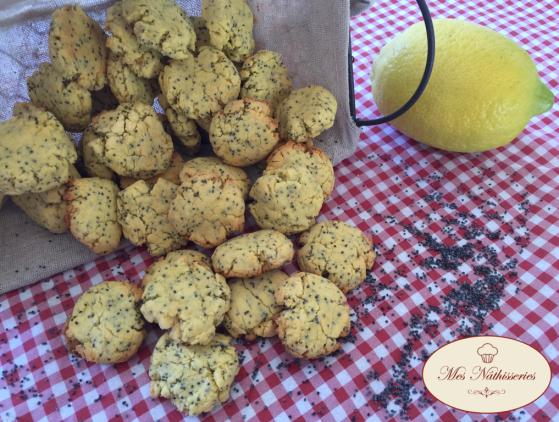 biscuits citron pavot maïs