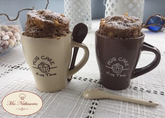Mug cake à la pomme et à la cannelle