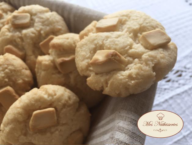 cookies chocolat blanc et noix de coco