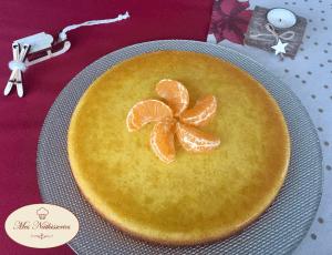 Gâteau fondant à la mandarine