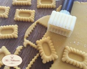 Mini-tartelettes vanille / confiture de fraise